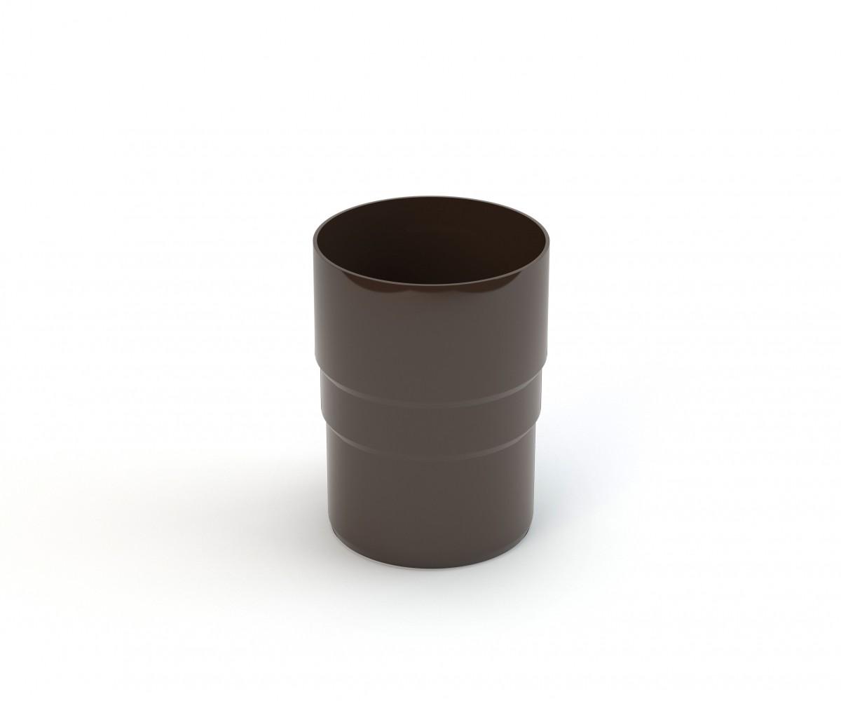 90 mm lietvamzdžio sujungimas Ø90/Ø90, GAMRAT (PVC)