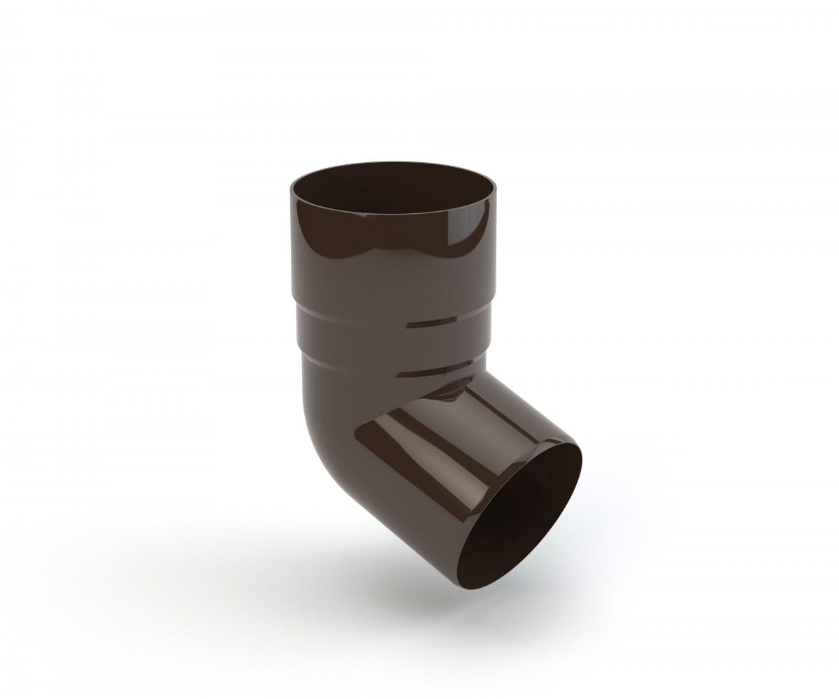 90 mm alkūnė 67,5°, GAMRAT (PVC)