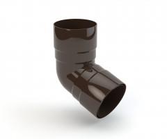 63 mm dviejų movų alkūnė 67,5°, GAMRAT (PVC)